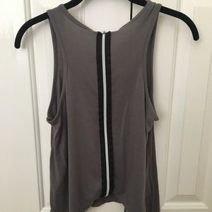 BCBG soft cotton tank top